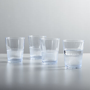 Sur La Table Faceted Glass Tumbler