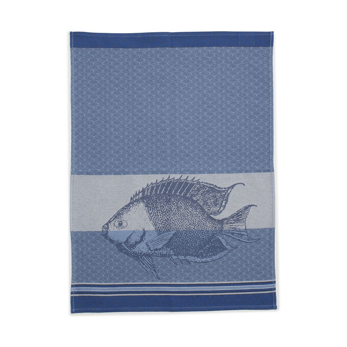 "Jacquard Fish Kitchen Towel, 18.5"" x 27.5"""