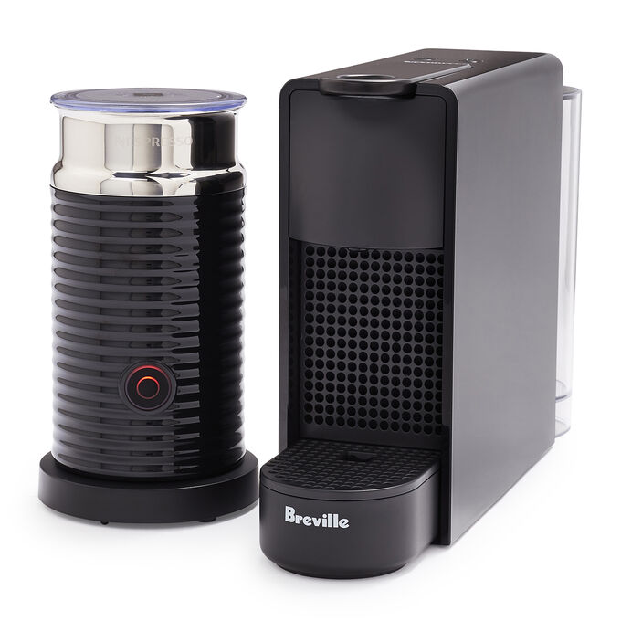 Nespresso Essenza Mini Espresso Machine by Breville with Aeroccino3 Frother