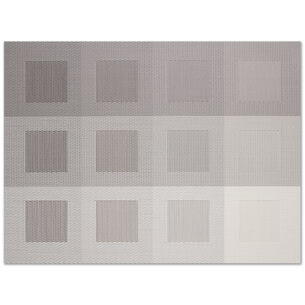 """Chilewich Mixed Weave Luxe Placemat, 19"""" x 14"""""""