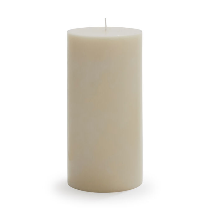 "Ivory Pillar Candle, 3"" x 6"""