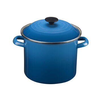 Le Creuset Enameled Steel Stockpot, 8 qt.