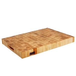 """John Boos & Co. Maple End-Grain Cutting Board, 24"""" x 18"""" x 2.25"""""""