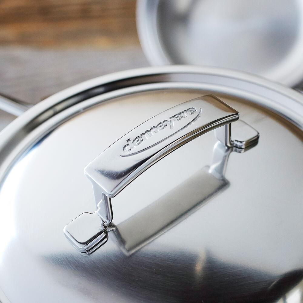 Demeyere Silver7 Covered Saucepan