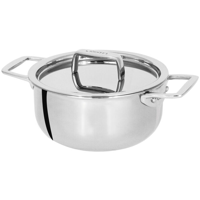 Cristel Castel'Pro 5-Ply Mini Stewpots with Stainless Steel Lid