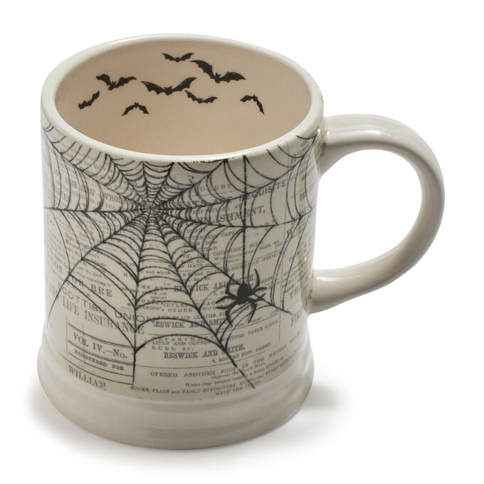 Spider Web Mug, 15 oz.