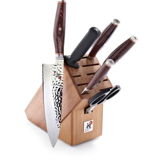 Miyabi Artisan SG2 Collection 7-Piece Knife Block Set
