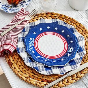 Stars & Stripes Melamine Salad Plate