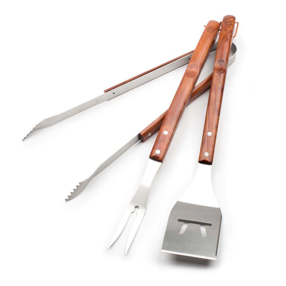 Rosewood BBQ Tools, Set of 3