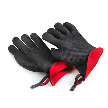 Kitchen Grips Small Red Chef Gloves, Set of 2