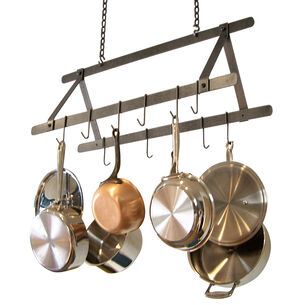 Enclume Hammered-Steel Tent Pot Rack