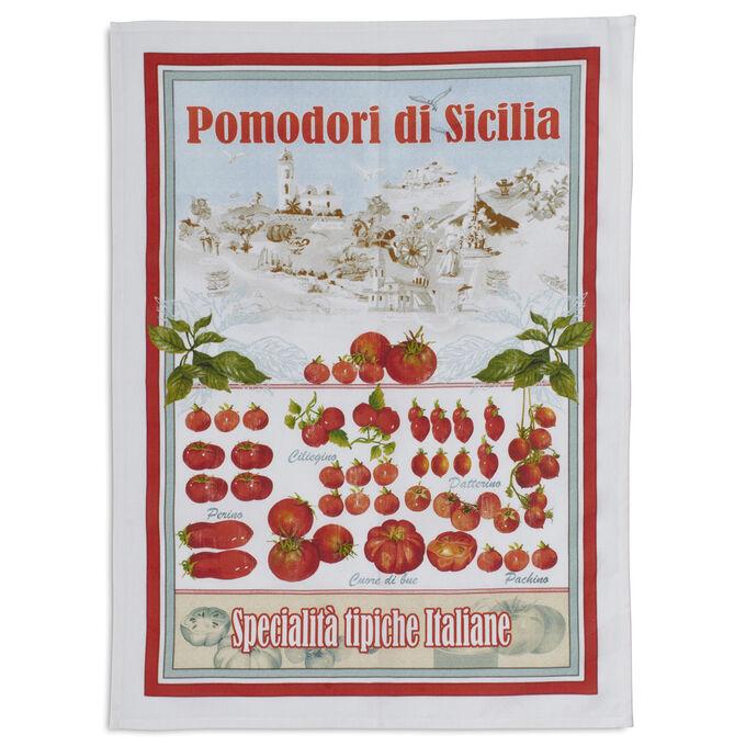 "Vintage Pomodori Kitchen Towel, 28"" x 20"""
