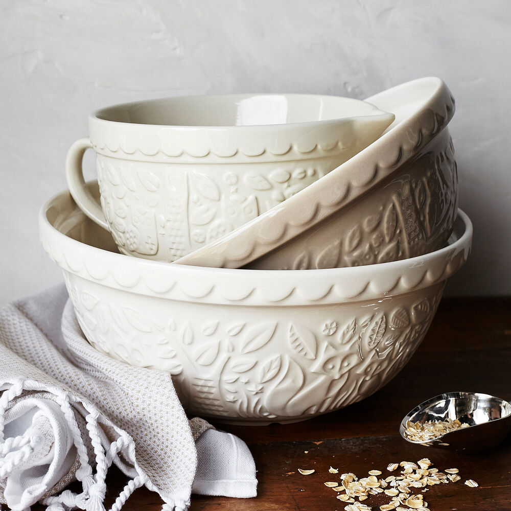 Mason Cash In the Forest Fox Mixing Bowl, 4.25 qt.