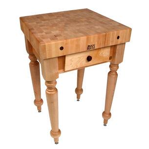 """John Boos & Co. Cucina Rustica Table, 30"""" x 24"""""""