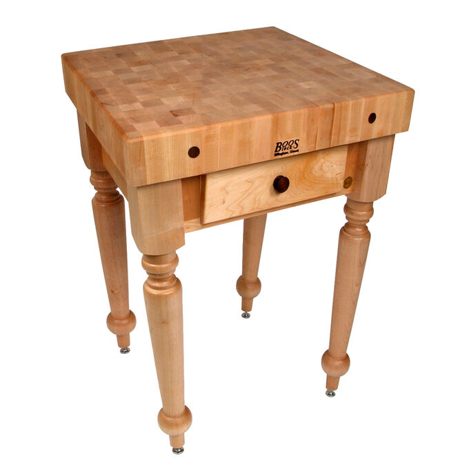 "John Boos & Co. Cucina Rustica Table, 30"" x 24"""