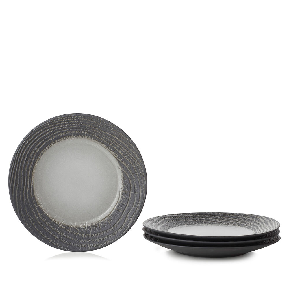 Revol Arborescence Dessert Plates, Set of 4