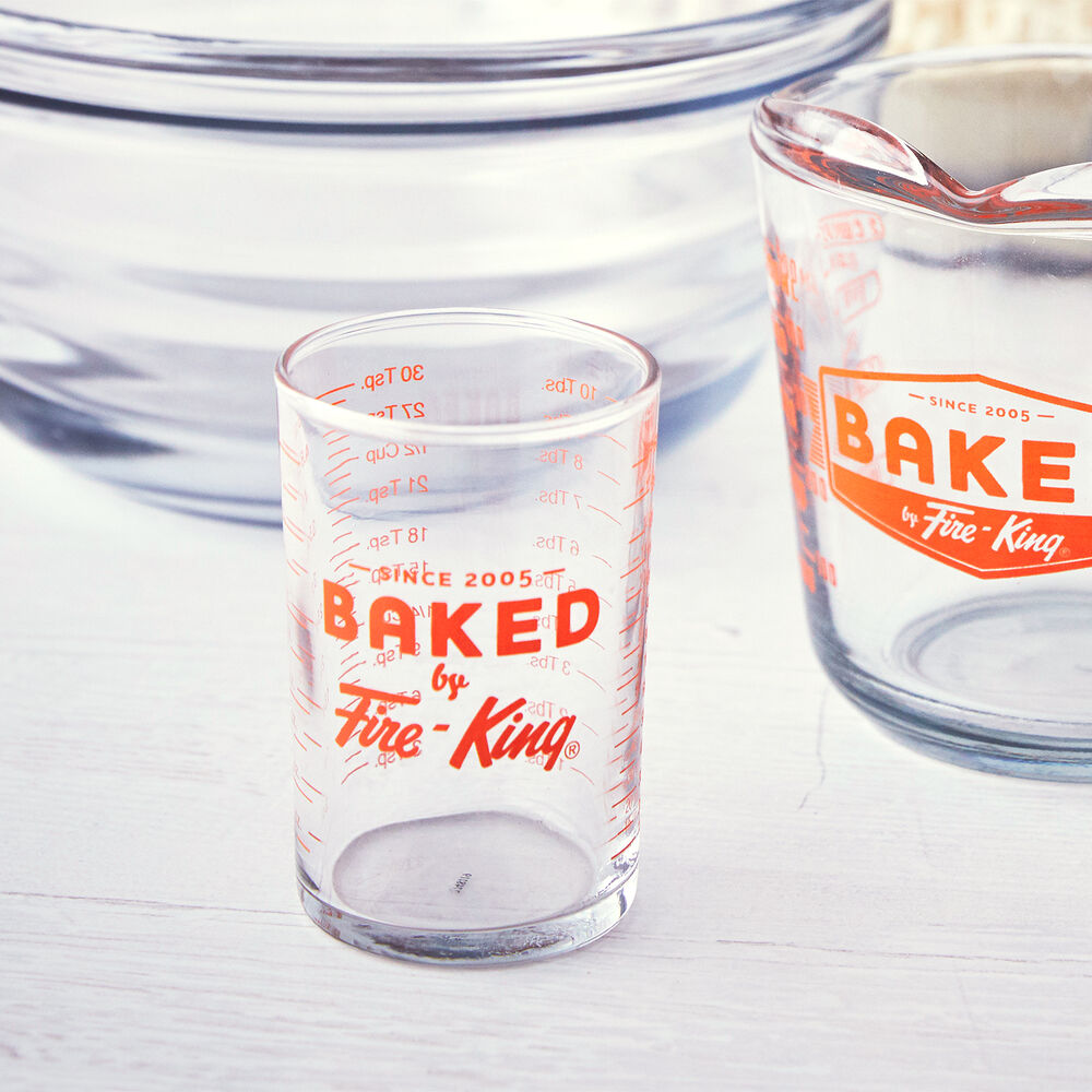 Baked by FireKing Measuring Glass, 5 oz.