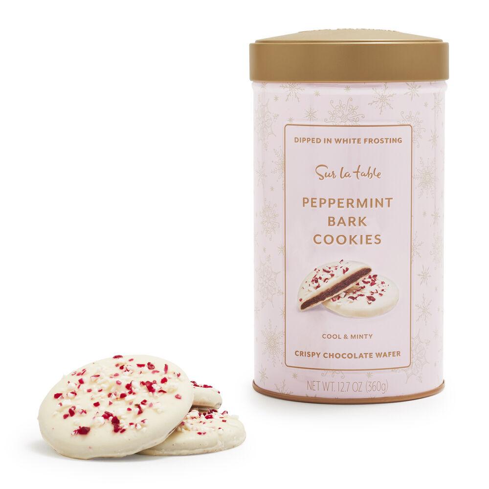Sur La Table Peppermint Cookie Tin