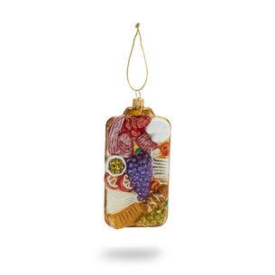 Charcuterie Glass Ornament
