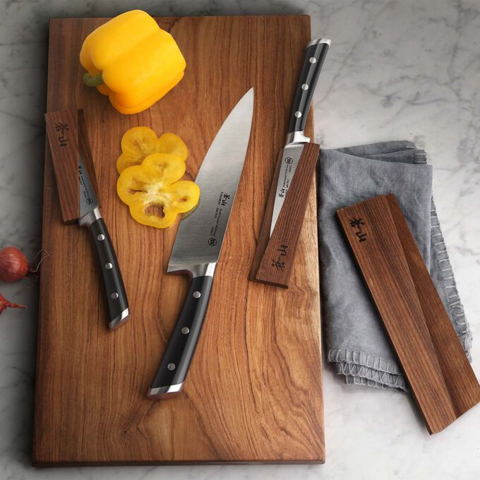 Cangshan TS Series Swedish Sandvik Steel Forged Starter Knives, Set of 6