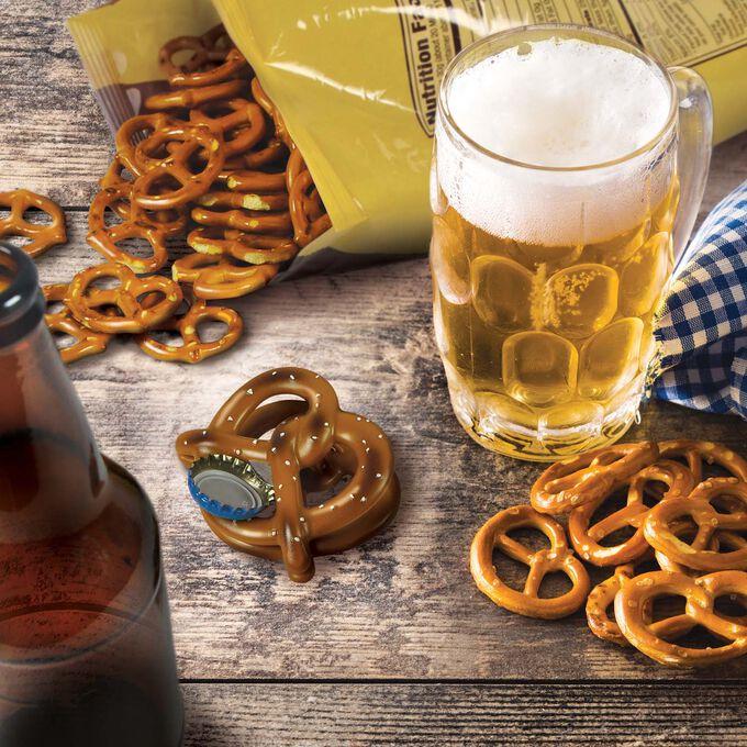 Fred Beer Pretzel Bag Clip & Bottle Opener