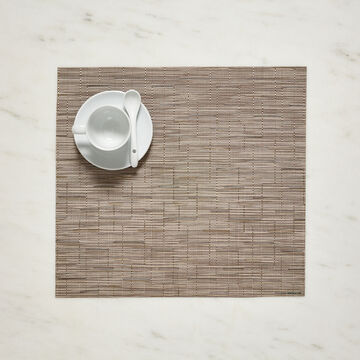 "Chilewich Square Bamboo Placemat, 14"" x 13"""