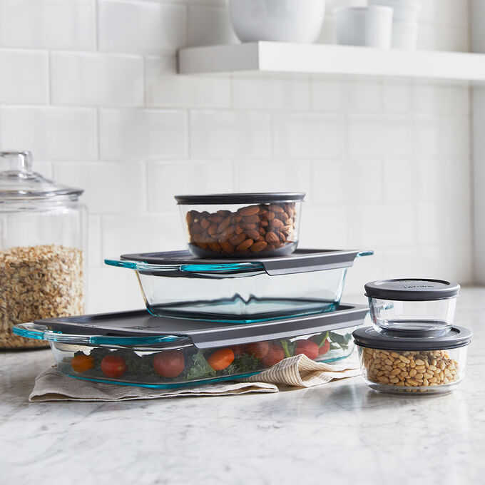 Pyrex 10-Piece Bake and Store Set