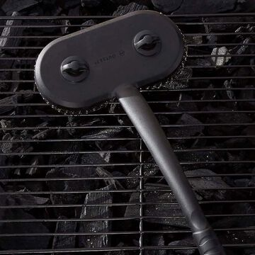 Outset Mesh Scrubber Grill Brush with Long Handle