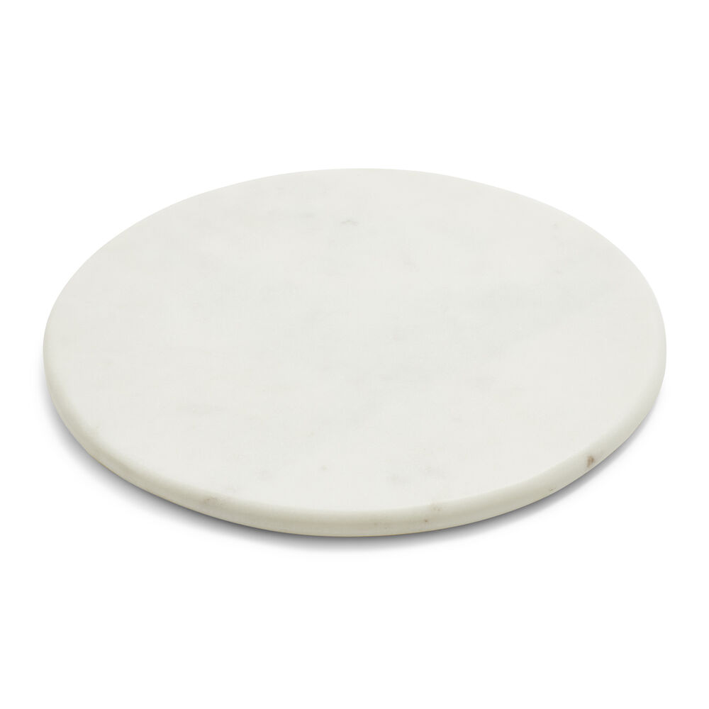 """Round Marble Serving Board, 12"""""""