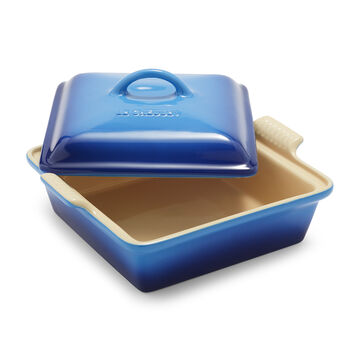 """Le Creuset Heritage Square Covered Baker, 9"""""""
