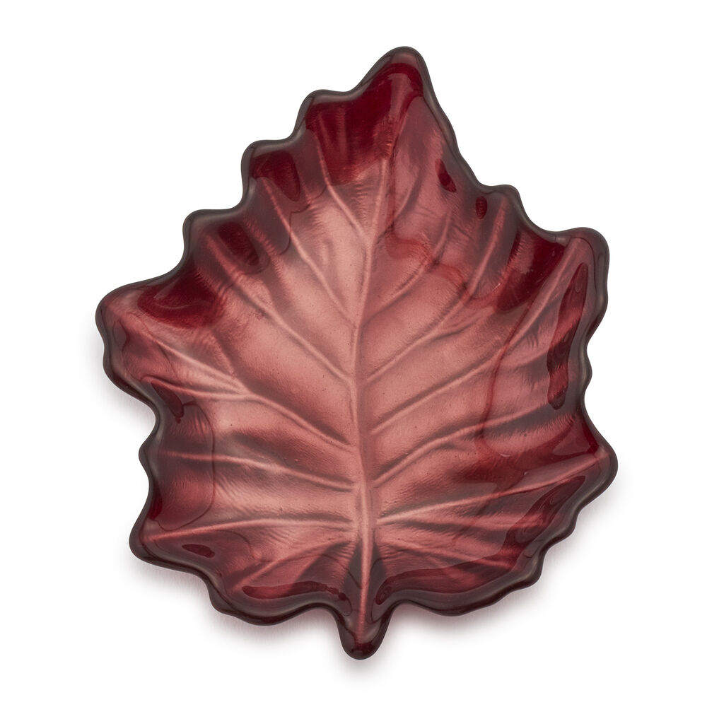 Glass Leaf Plate