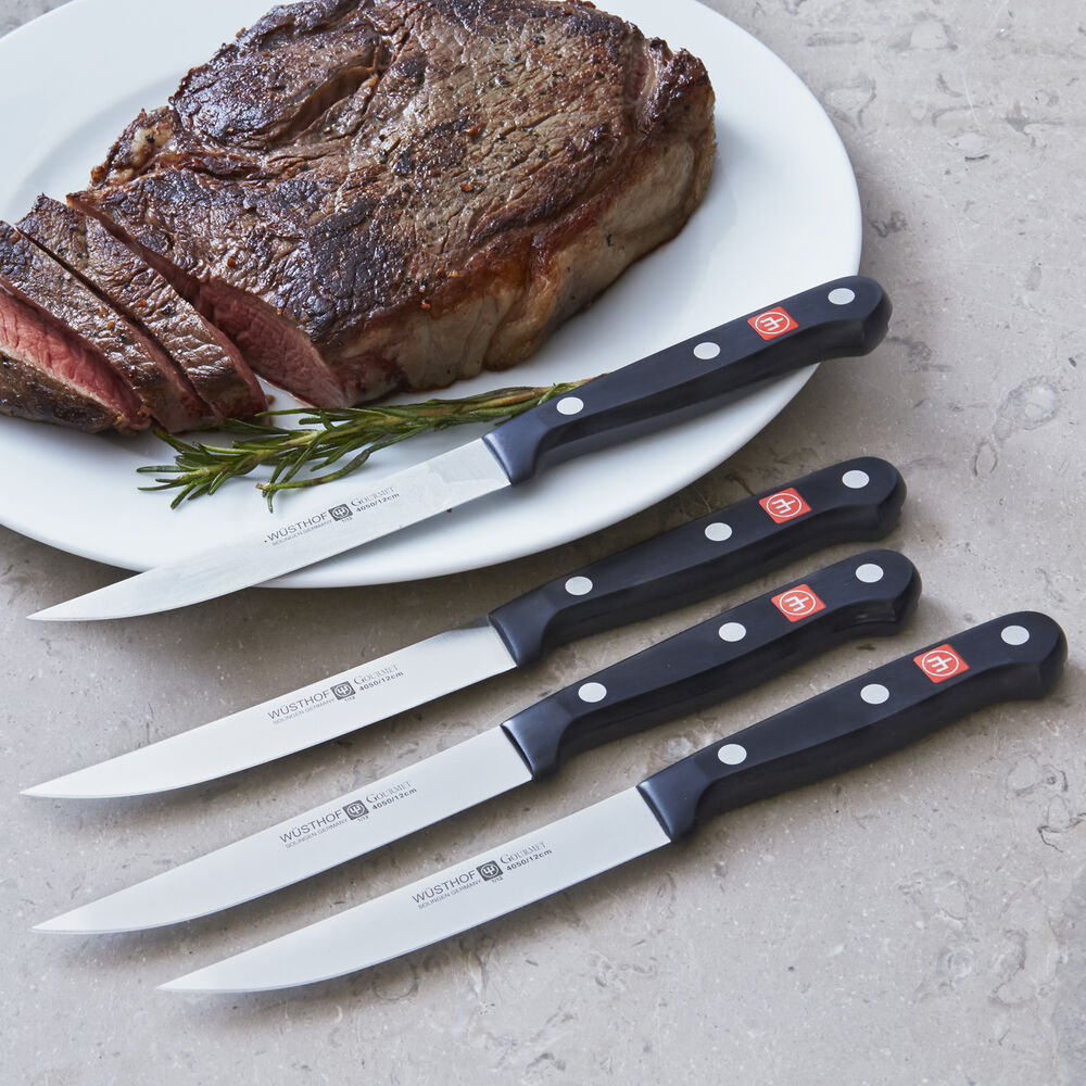 Wüsthof Gourmet 4-Piece Steak Knife Set