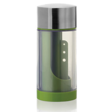 Microplane Stainless Steel Herb Mill with Herb Stripper