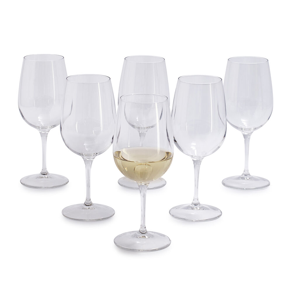 Sur La Table by Bormioli Rocco White Wine Glasses, Set of 6