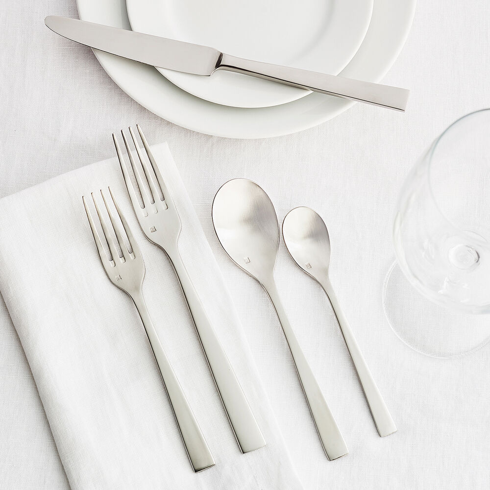 Fortessa Spada Brushed Flatware Set