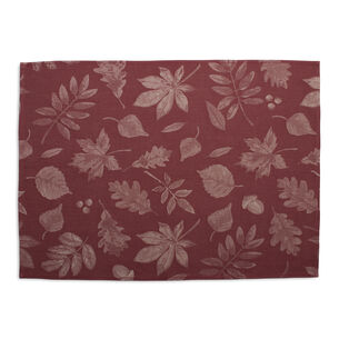"Fall Leaf Jacquard Kitchen Towel, 27.5"" x 19.5"""