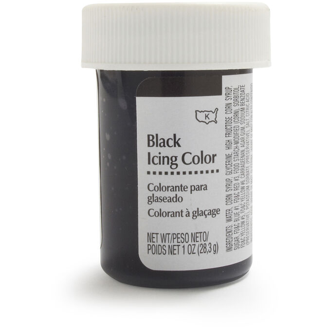 Wilton Black Icing, 1 oz.