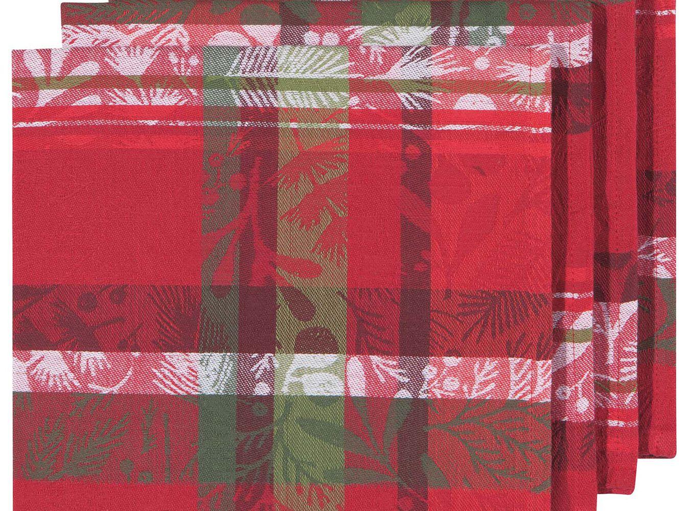 Jacquard Festive Forest Napkins, Set of 4 | Sur La Table