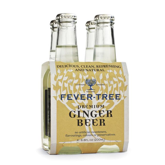 Fever-Tree Ginger Beer, 4 Pack