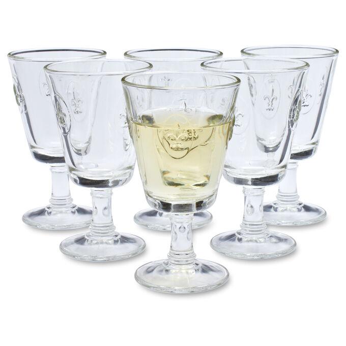 La Rochère Fleur-De-Lys Wine Glass, Set of 6