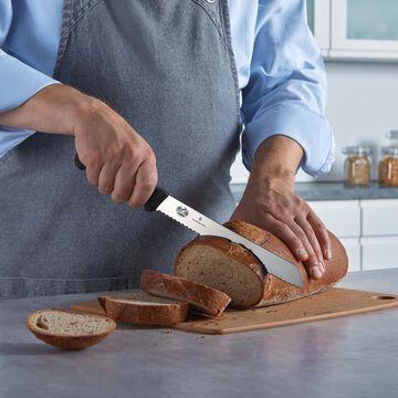 """Victorinox Fibrox Pro Serrated Bread Knife, 10"""""""