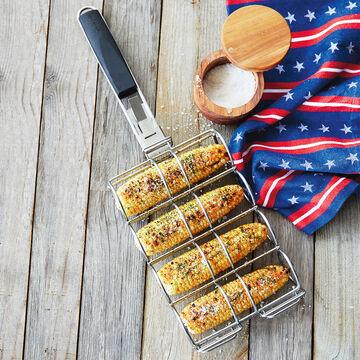 Sur La Table Corn Basket with Removable Handle