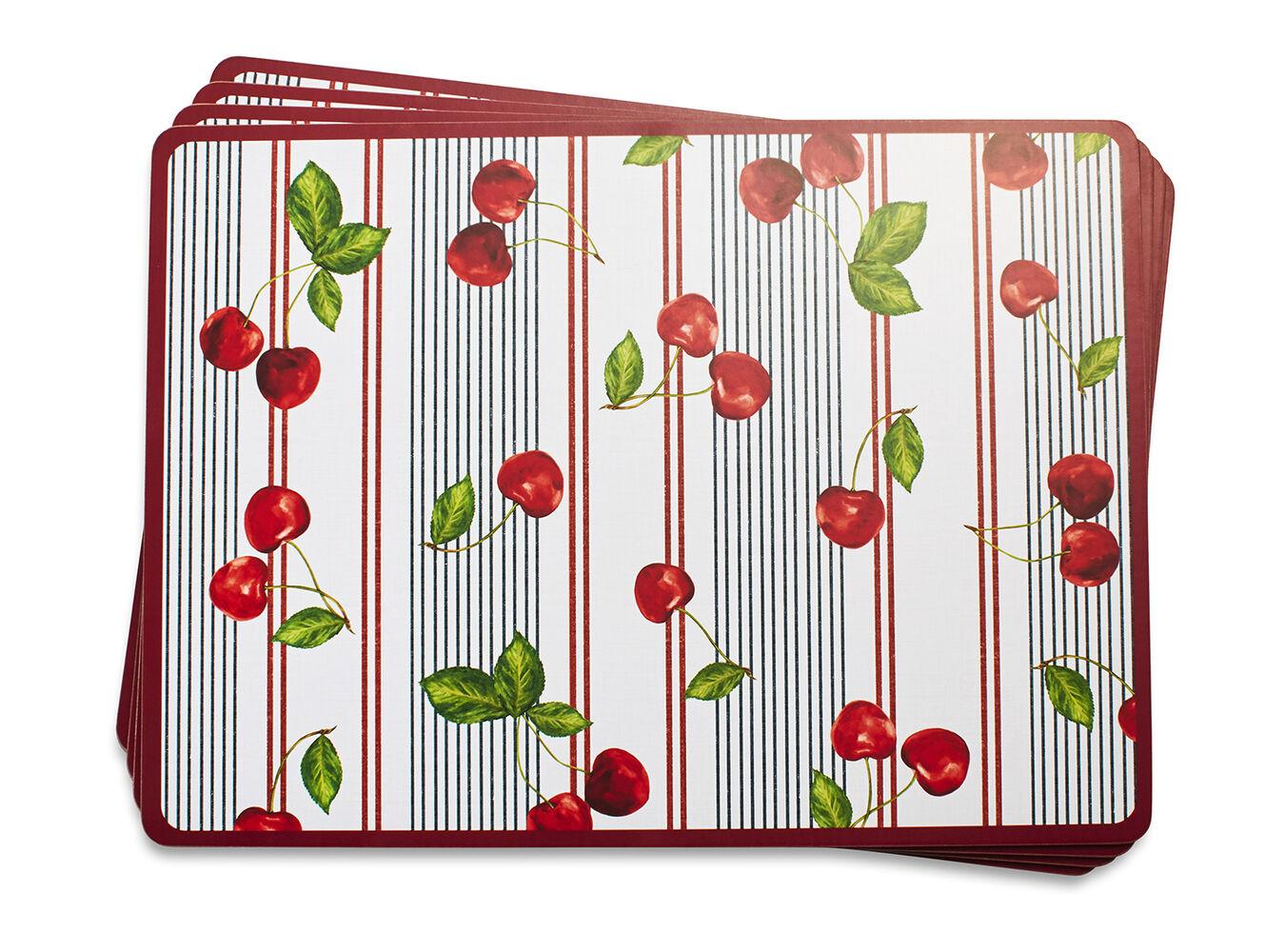 Pique-Nique Cork-Backed Placemats, Set of 4 | Sur La Table