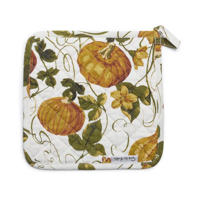 Pumpkin Vine Pot Holder