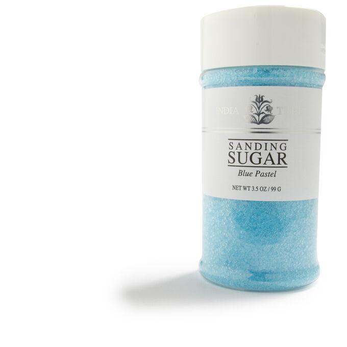India Tree Pastel Sanding Sugar, Blue