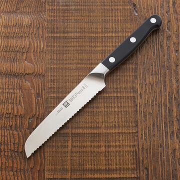 "Zwilling J.A. Henckels Pro Serrated Utility Knife, 5"""