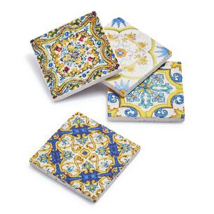 Tile Coasters, Set of 4