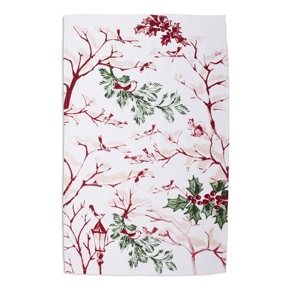 """Snowy Lane Kitchen Towel, 30"""" x 20"""""""