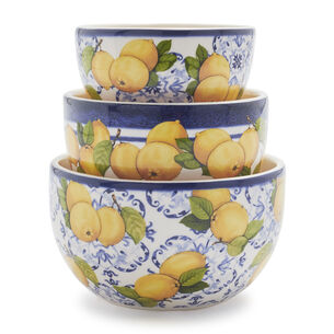 Limone Prep Bowls, Set of 3