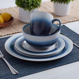 Eclipse Blue 16-Piece Dinnerware Set